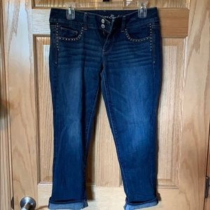 American Eagle cropped/Capri jeans size 8